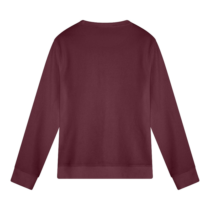 Sushi Women's Sweater | Burgundy