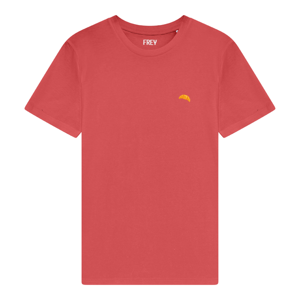 Croissant Women's T-shirt | Carmine Red
