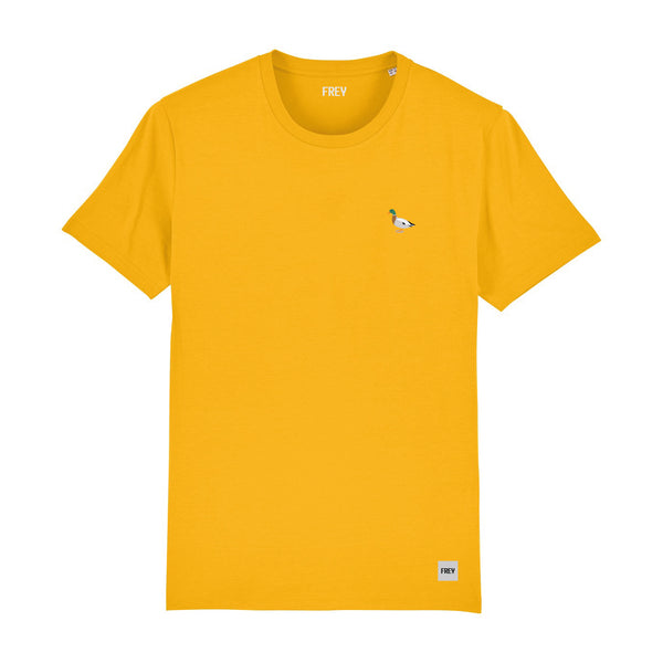 Duck Men's T-shirt | Yellow