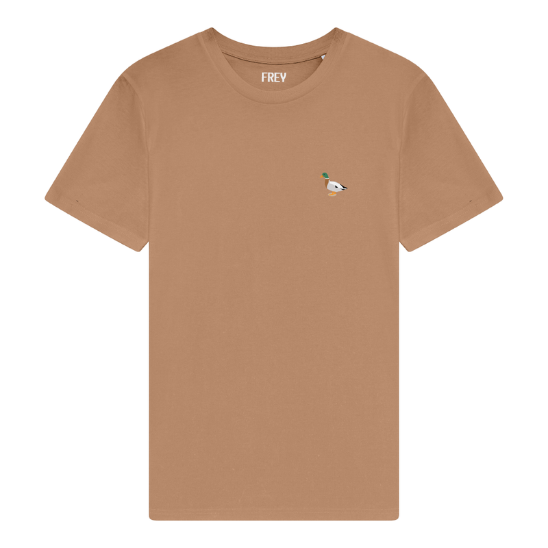 Duck Men's T-shirt | Camel