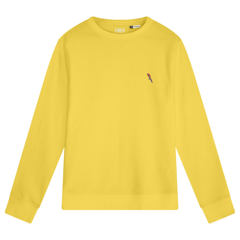 Parrot Men's Sweater | Yellow