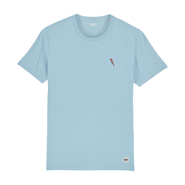 Parrot Men's T-shirt | Sky Blue