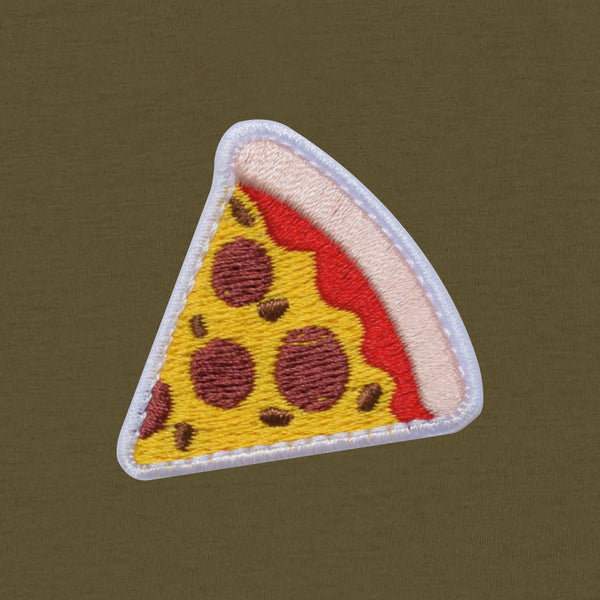 Pizza Men's T-shirt | Khaki
