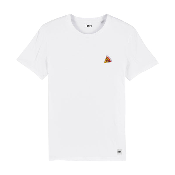 Pizza Men's T-shirt | White
