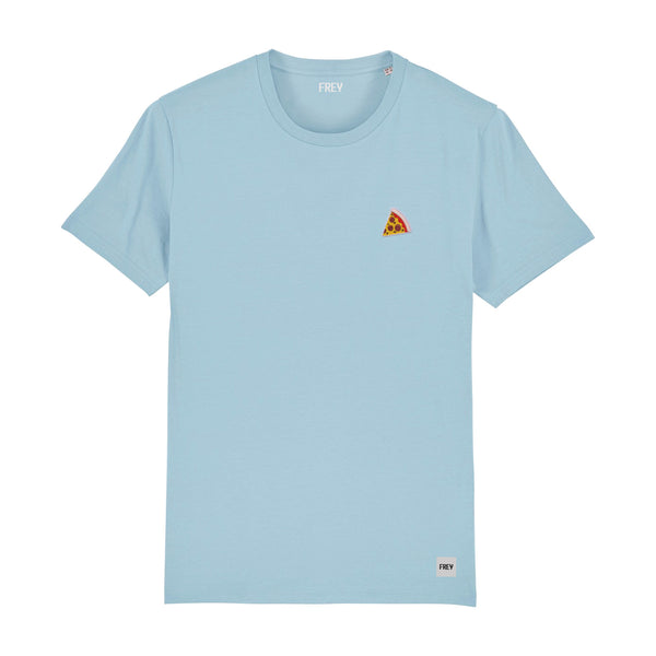 Pizza Men's T-shirt | Sky Blue