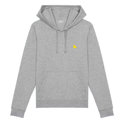 Rubber Duck Men's Hoodie | Grey Melee