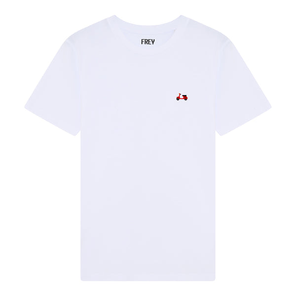 Scooter Men's T-shirt | White