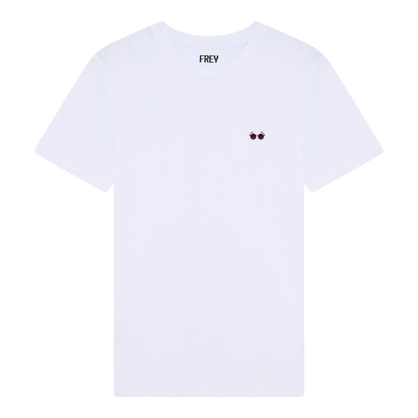 Sunglasses Men's T-shirt | White