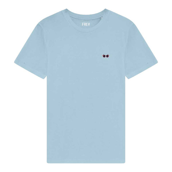 Sunglasses Men's T-shirt | Sky Blue