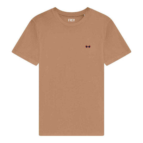 Sunglasses Men's T-shirt | Camel