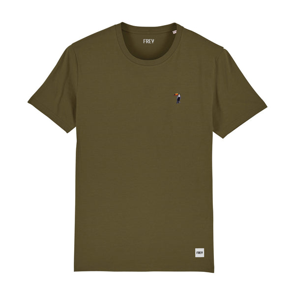 Toucan Men's T-shirt | Khaki