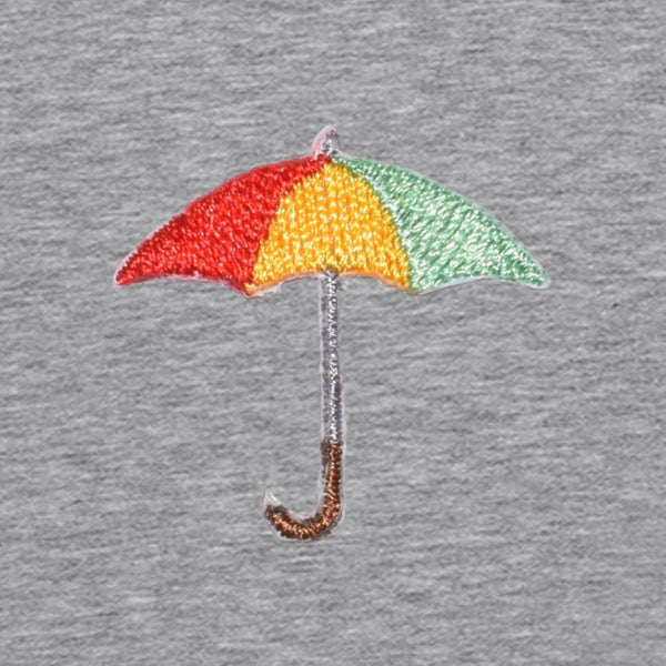 Umbrella Men's Hoodie | Grey Melee