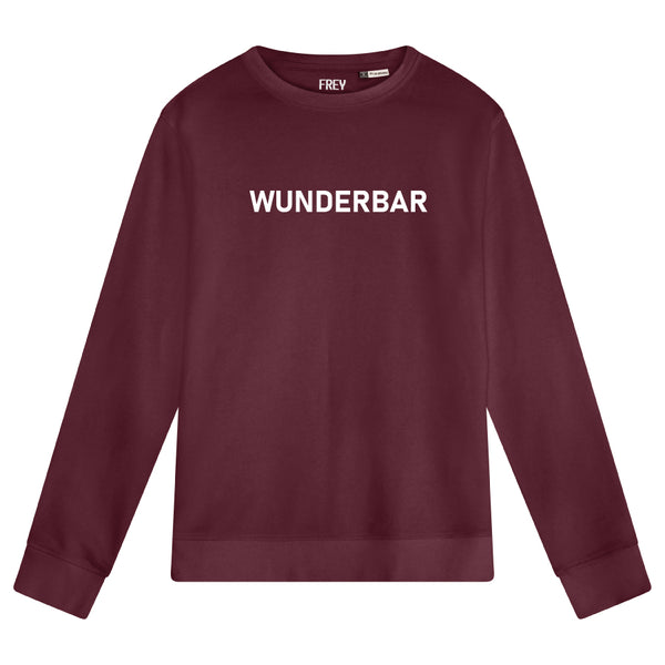 Wunderbar Men's Sweater | Burgundy