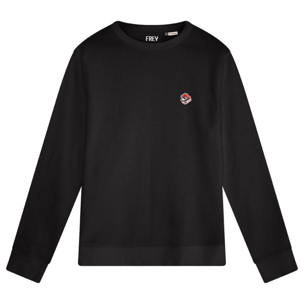 Mario Men's Sweater | Black