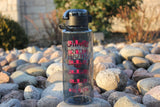 Graphite Smile Sweat Water Bottle