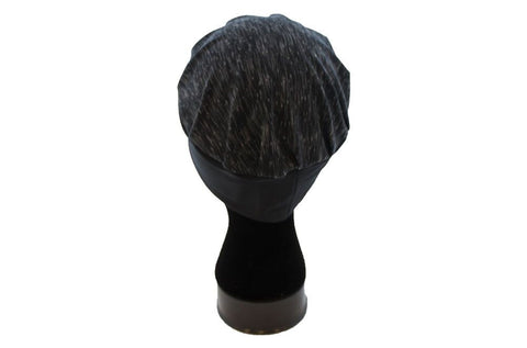 Butterfly Blessing Cancer Cap-Heathered Black/Gray