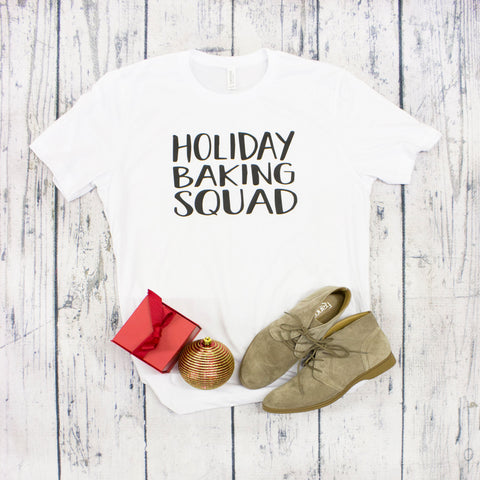 Raglan - Holiday Baking Squad