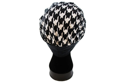 Butterfly Blessing Cancer Cap-Houndstooth
