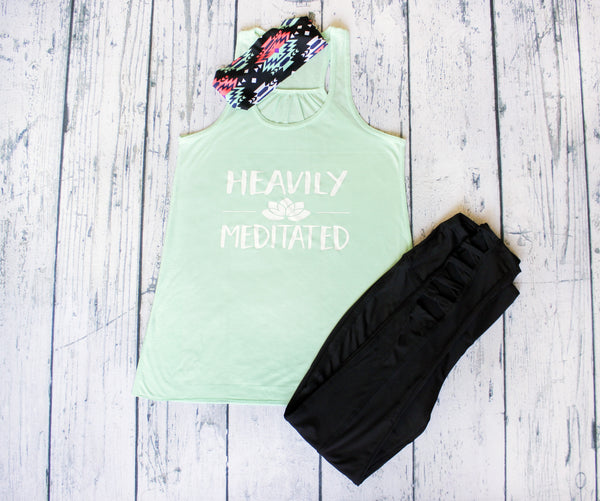 Tank Top - Heavily Meditated