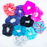 Fit Chic VSCO girl scrunchies headbands hair tye high pony tail