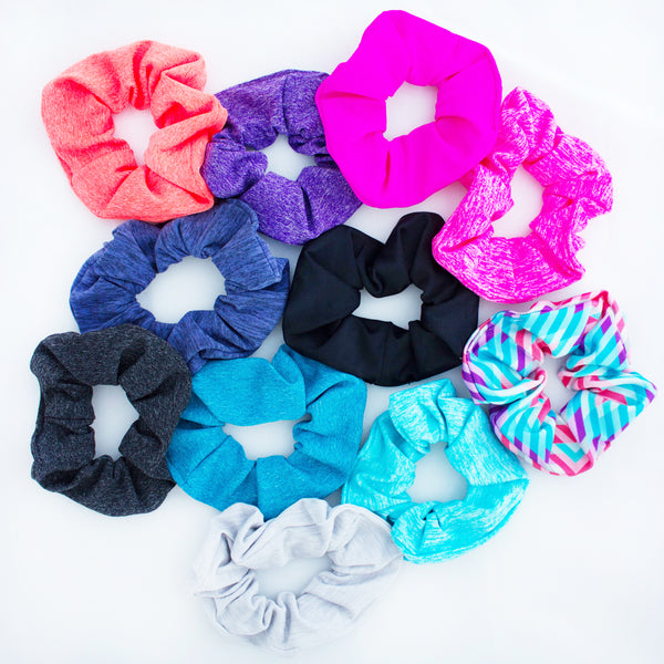 Fit Chic Scrunchies 5 pack
