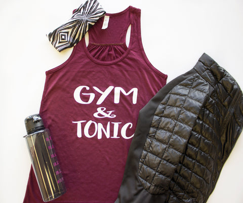 Tank Top - Gym and Tonic