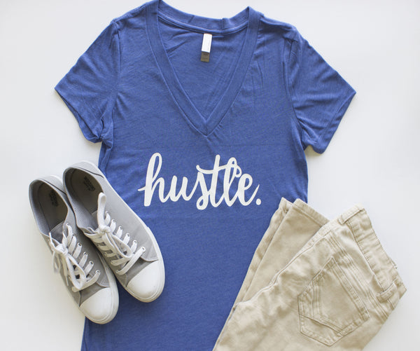 V-Neck - Hustle