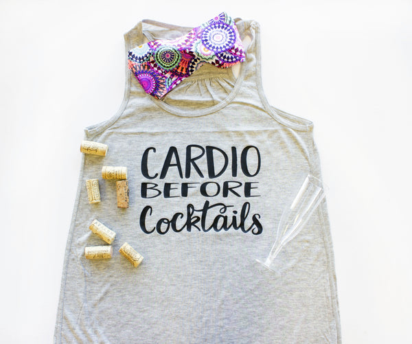 Tank Top - Cardio Before Cocktails