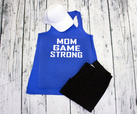 Tank Top - Mom Game Strong