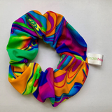 Maisie green tie die scrunchie VSCO girl