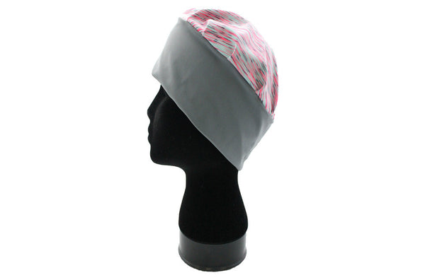 Butterfly Blessing Cancer Cap-Heathered Pink and Mint