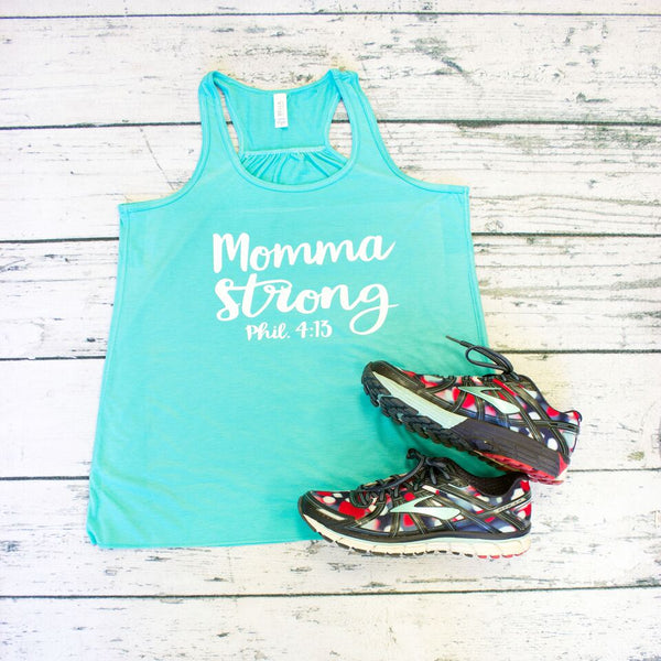 Tank Top - Momma Strong