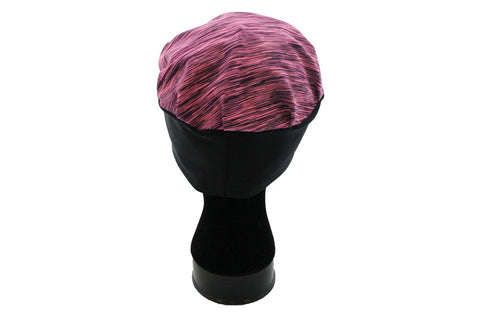 Butterfly Blessing Cancer Cap-Heathered Pink and Purple