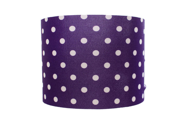 Purple and White Dots