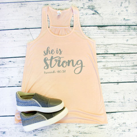 Tank Top - She is Strong