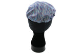 Butterfly Blessing Cancer Cap-Heathered Blue and Purple