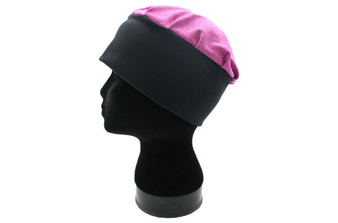 Butterfly Blessing Cancer Cap-Heathered Magenta