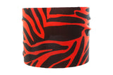 Zebra Black and Red