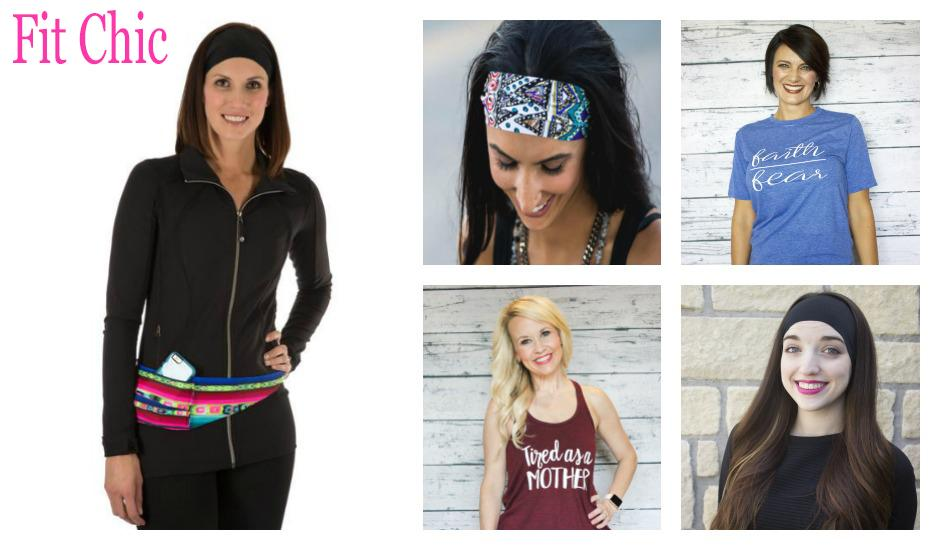 Fit Chic Headbands Girls Color Aztec Style