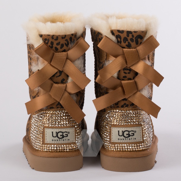 Toddler UGG Bailey Bow Rosette frosted by Harriet & Hazel - Harriet & Hazel  - 3