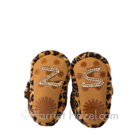 Monogram Bixbee Leopard UGGs - Infant - Harriet & Hazel  - 1