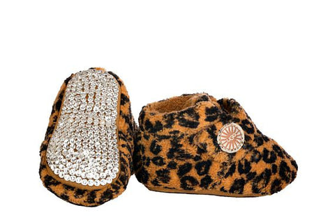 Bixbee Leopard UGGs - Infant - Harriet & Hazel  - 1