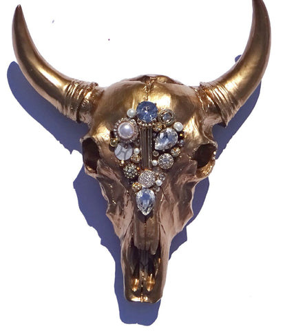Gold Embellished Stag Head - Harriet & Hazel