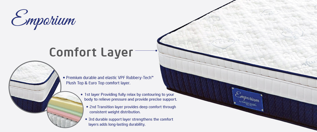 emporium bed comfort layer