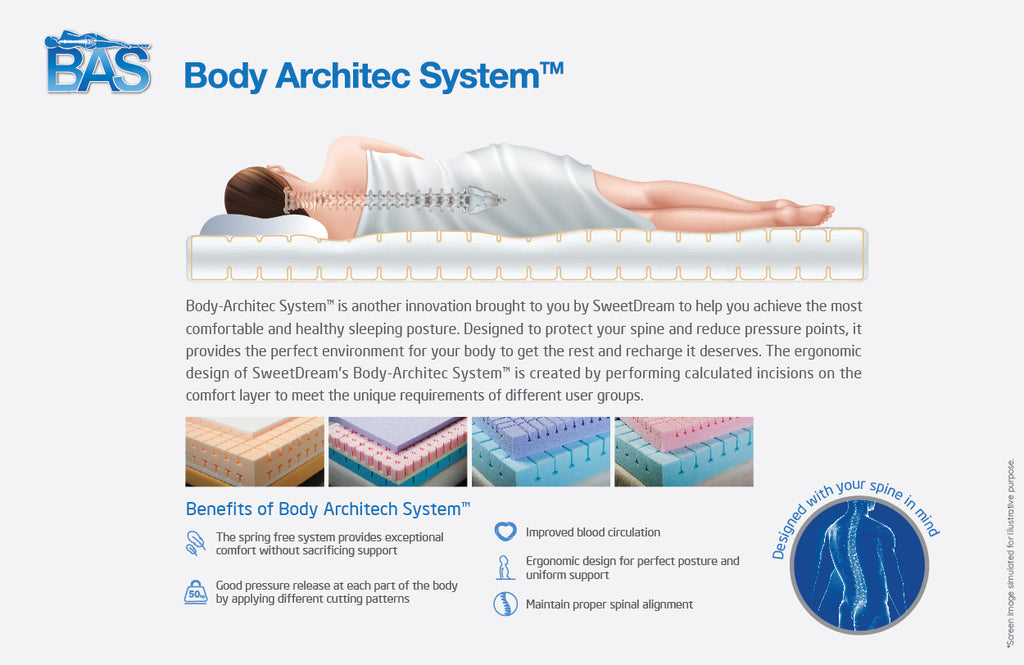 flow bed good for spine