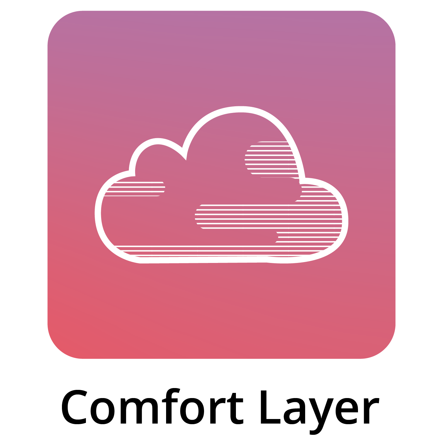 Comfort Layer In Bed Icon