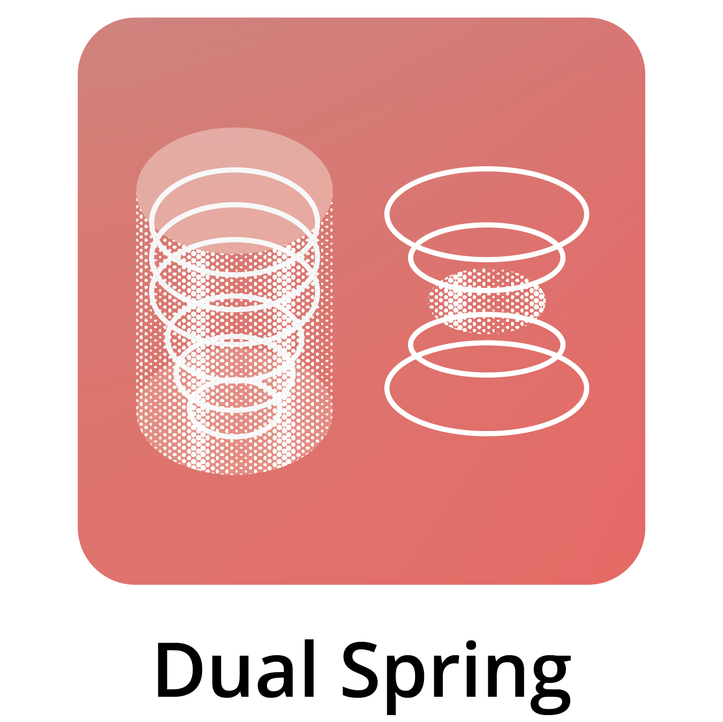 Dual Spring in Bed Icon