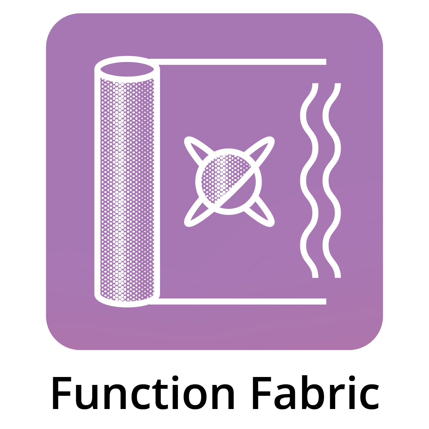 Function Fabric in Bed Icon
