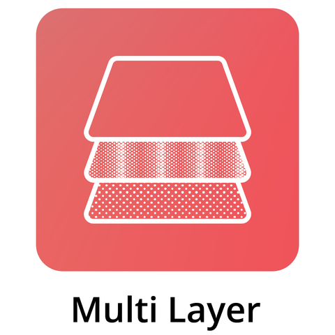 Multi Layer In Bed Icon