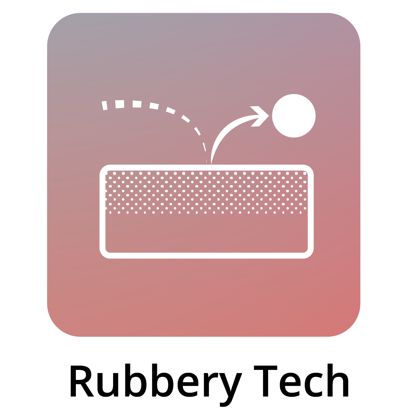 Rubbery Tech Foam In Bed Icon